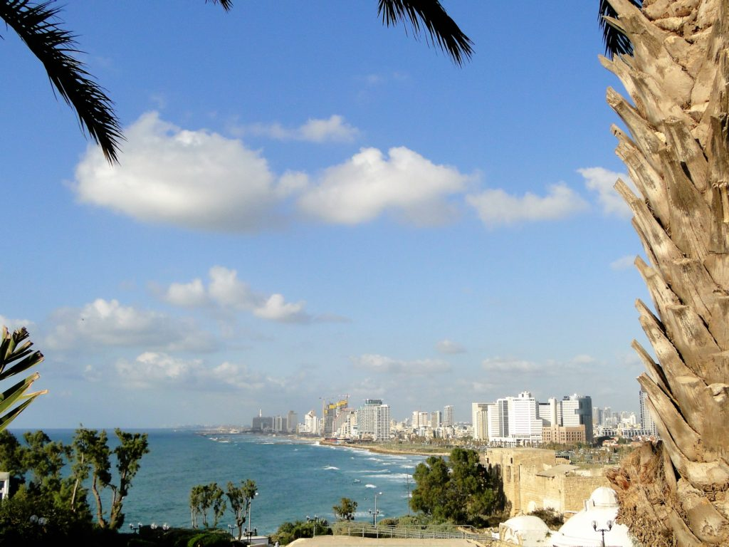 View of Tel Aviv from Kedumim Square - Jaffa, israel