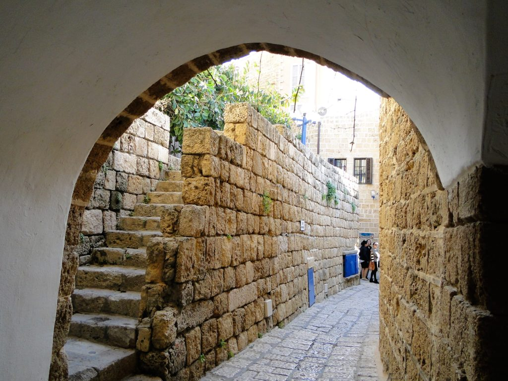 Alleyway in the old city of Jaffa - Jaffa-Tel Aviv, Israel