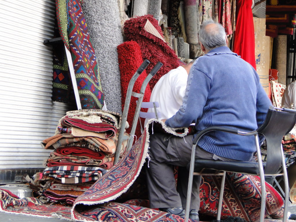 Artisans and Merchants at the Flea Market - Jaffa, Israel