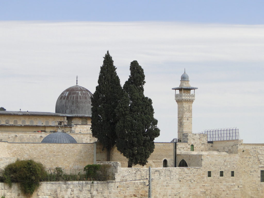 Al Aqsa Mosque on Temple Mount - Jerusalem's Old City, Israel