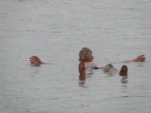 Floating! - Dead Sea, Israel