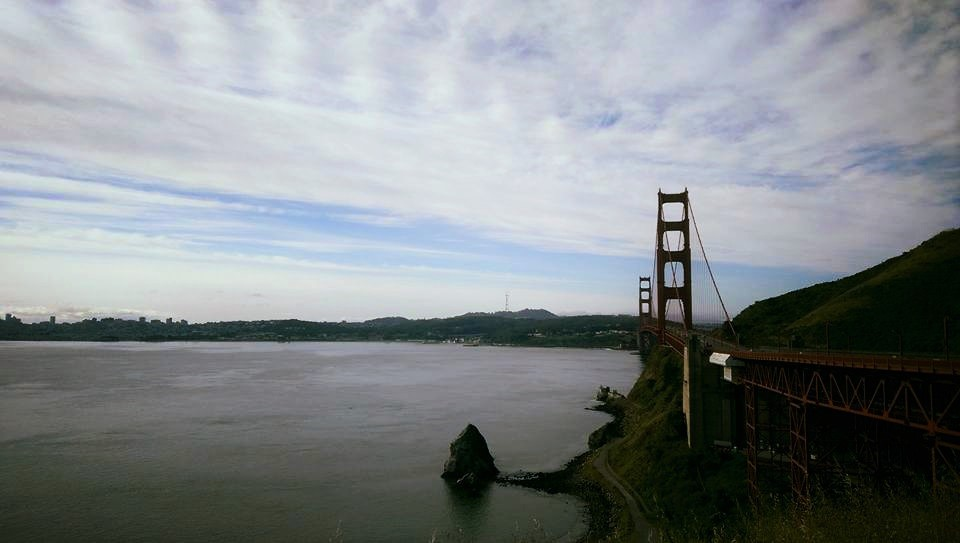 Golden Gate Bridge view from Vista Point - Sausalito, CA