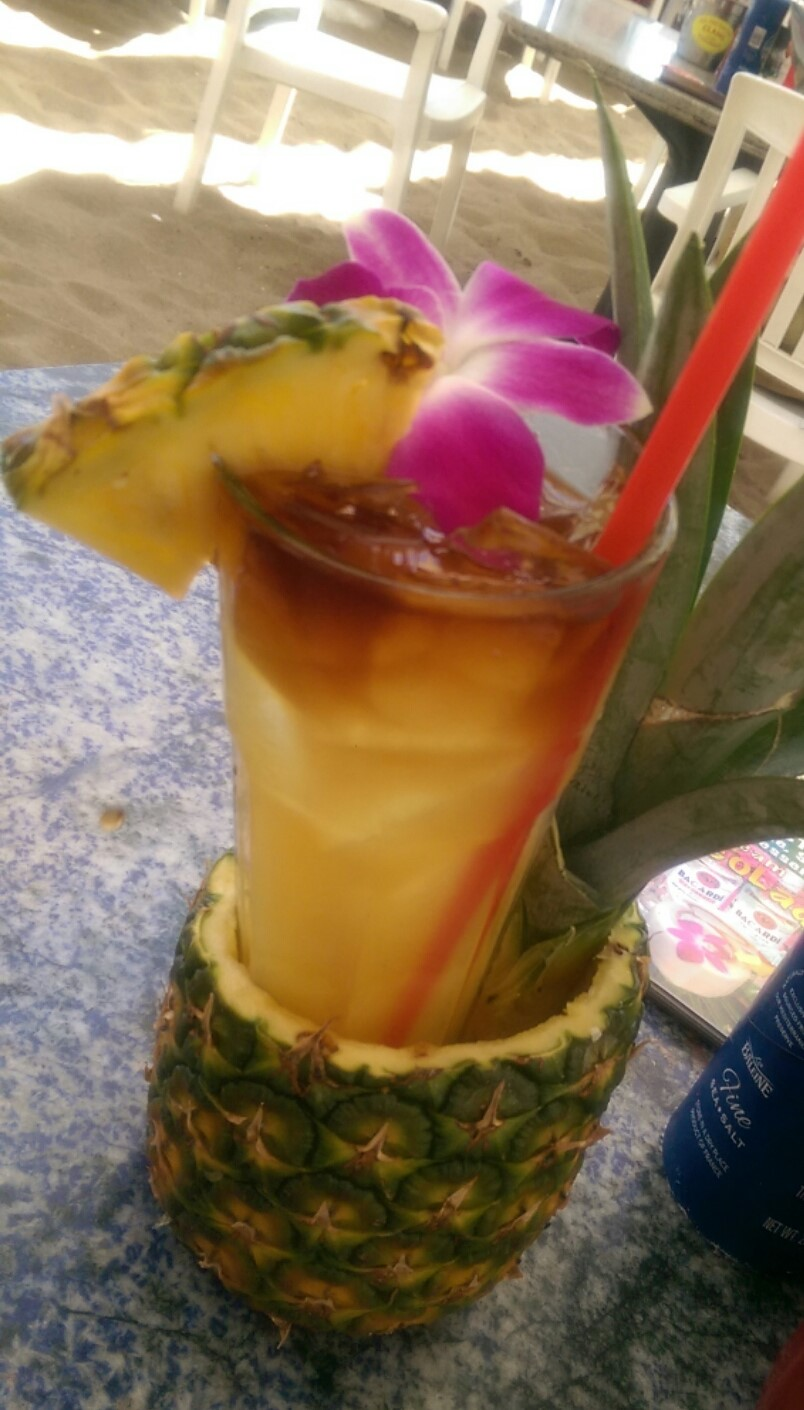 Malibu Mai Tai at Paradise Cove Beach Cafe