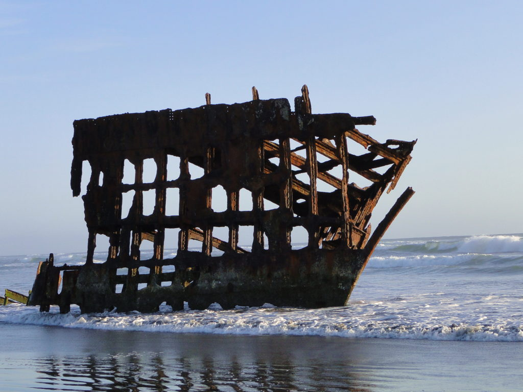 The Wreckage of Peterdale, Fort Stevens - Oregon Coast