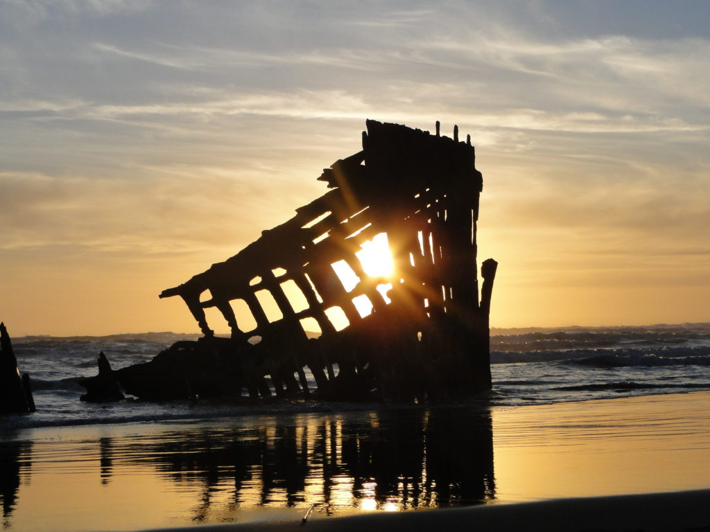 The Wreckage of Peterdale, Fort Stevens - Oregon