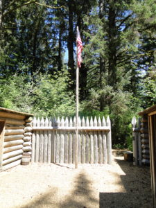 Fort Clatsop in the Lewis and Clark National and State Historical Parks, Oregon