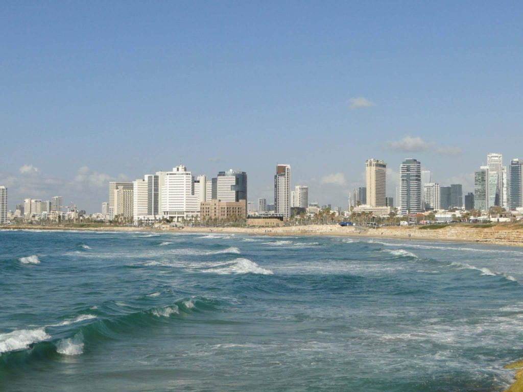 Tel Aviv's skyline and beaches