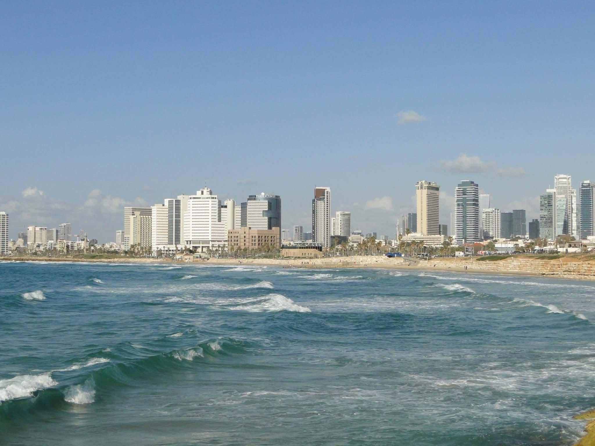 Tel Aviv's skyline and beaches