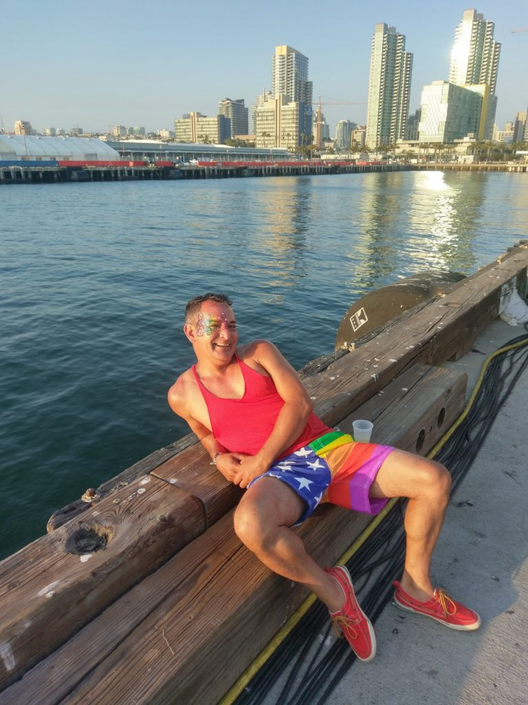 San Diego Pride dance at Broadway Pier - San Diego, CA