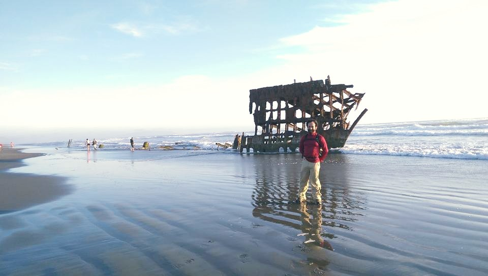 Peter Iredale shipwreck - Fort Stevens, Oregon