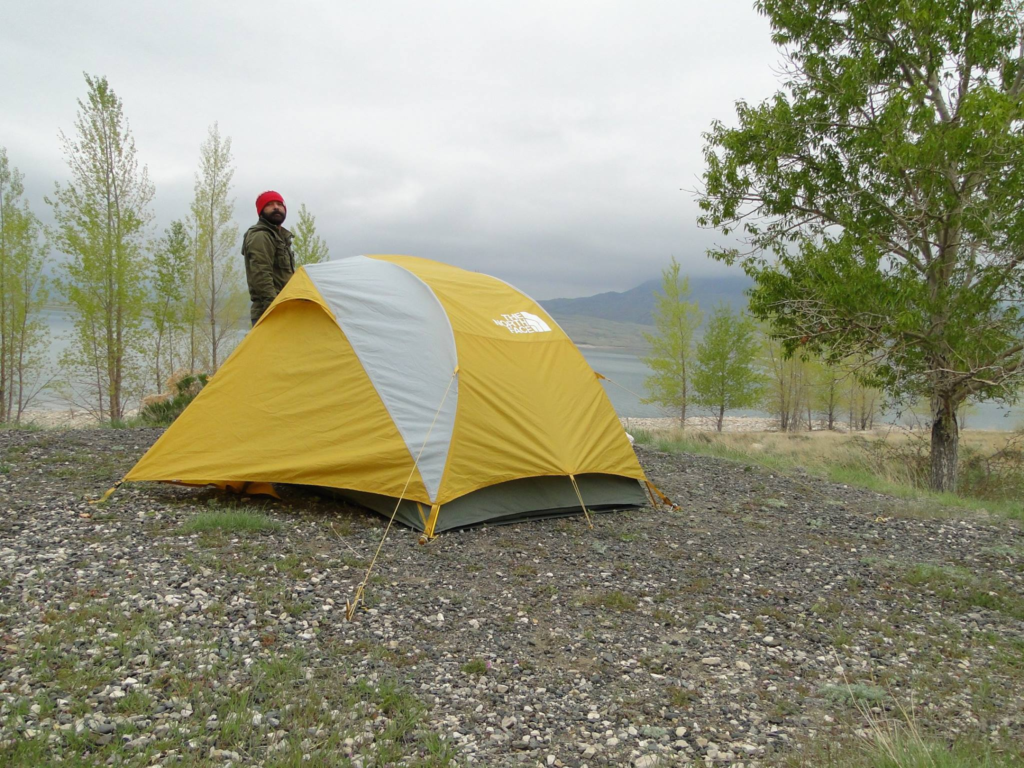 Camping at the Buffalo Bill State Park - Cody, Wyoming